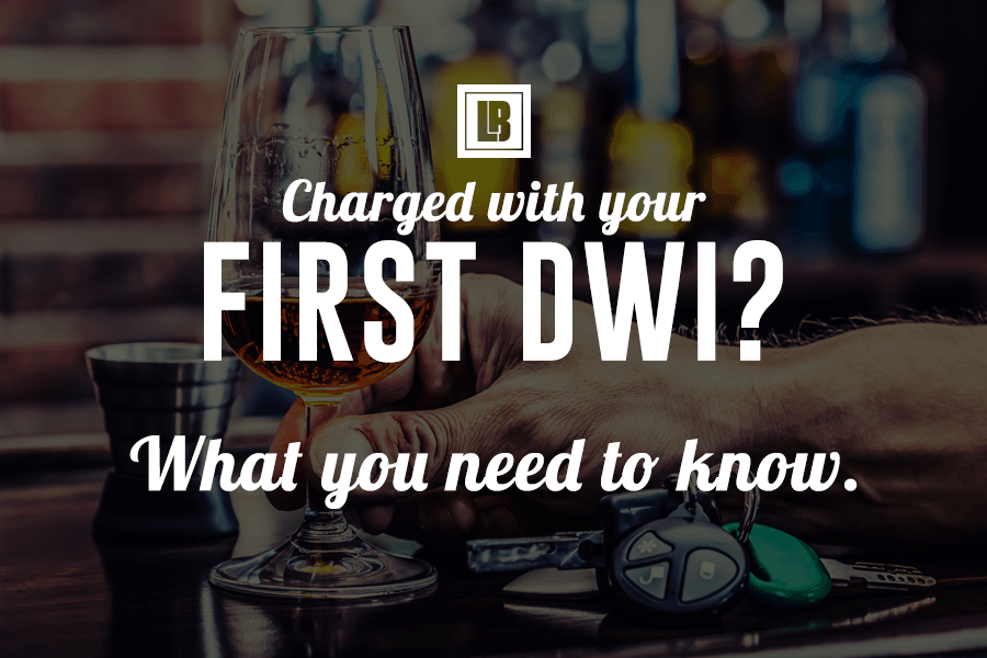 Charged with your First MN DWI? Everything you need to know.