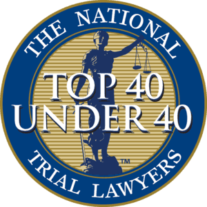 Top 40 under 40 Trial Lawyers Leverson Budke