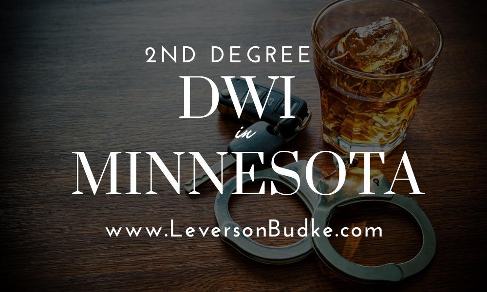 2nd Degree DWI in Minnesota