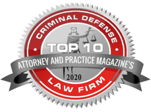 Top 10 Criminal Defense Law Firm 2020 - Attorney and Practice