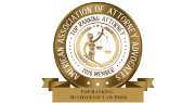 2020 Top Ranking DUI Defense Law Firm - American Association of Attorney Advocates